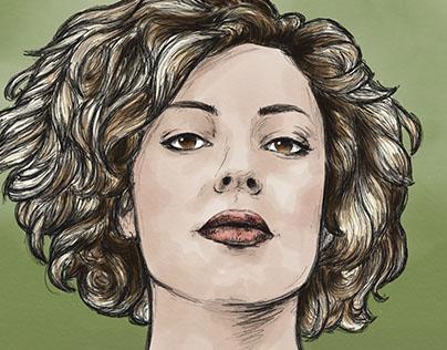 Digital Portrait: Claudia