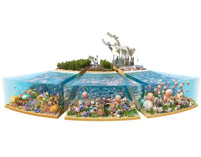 Ocean Acidification CGI