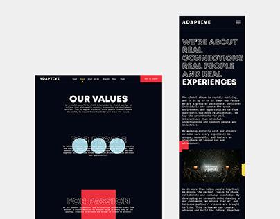 Adapteve Web Design