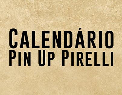 Calendário Pin Up Pirelli 2017