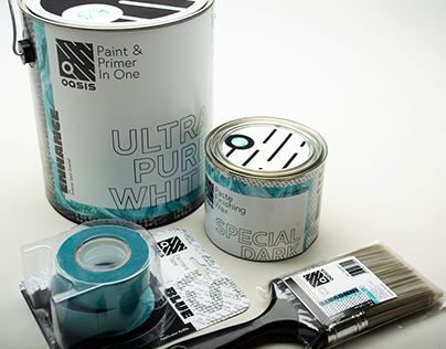 Oasis Paint & Supplies Branding