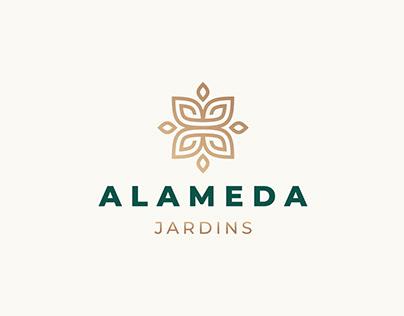 ALAMEDA JARDINS LOGO DESIGN