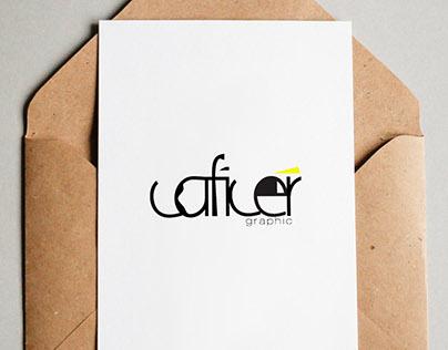 Caficer Graphic Design Logo