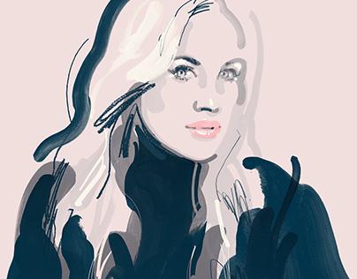 Fashion Illustrations - www.ivankatrump.com