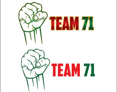 Team 71 logo