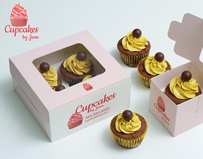Cupcakes by Jenn Logo
