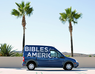 Bibles for America Vehicle Wrap