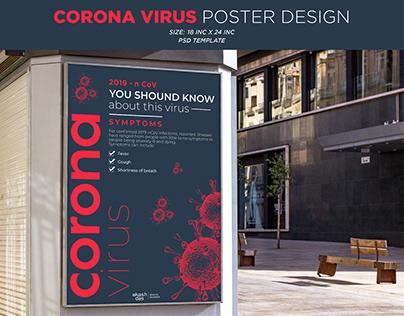 Coronavirus Poster Design