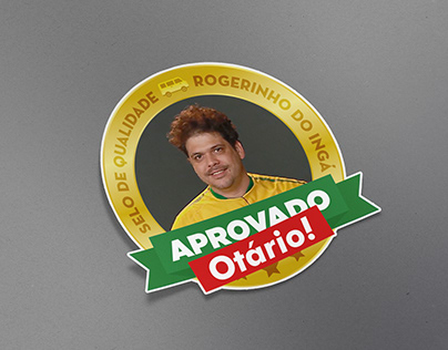 Sticker - Rogerinho do Ingá