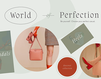 Landing page World of Perfection