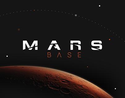 MARS BASE - Concept Branding