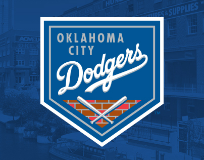 Oklahoma City Dodgers Identity Design