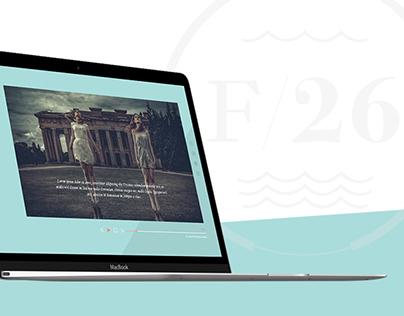 F/26 Photo Studio Website