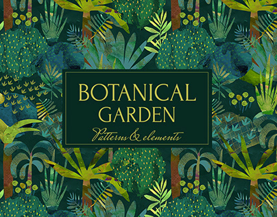 Botanical Garden Patterns and Elements