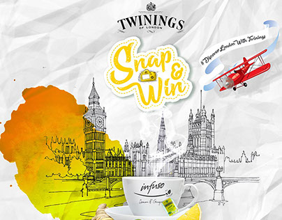 Twinings Of London Digital Campaign