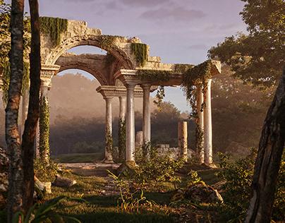 Mystery ruins [FULL CGI]