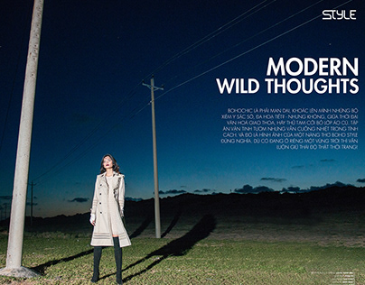 MODERN WILD THOUGHTS-STYLE MAGAZINE 10/2017 ISSUE