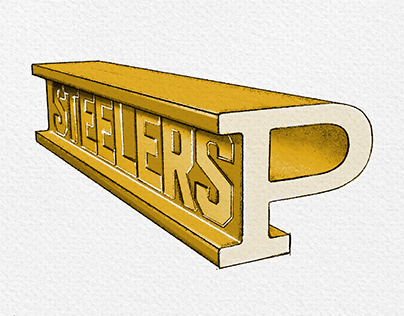 A retro retake for the Pittsburgh Steelers