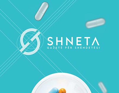 """Logo Branding """"SHNETA"""""""