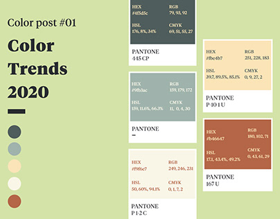 Color Trends #01