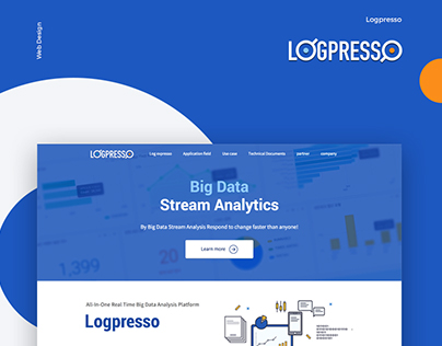 Logpresso Website Design