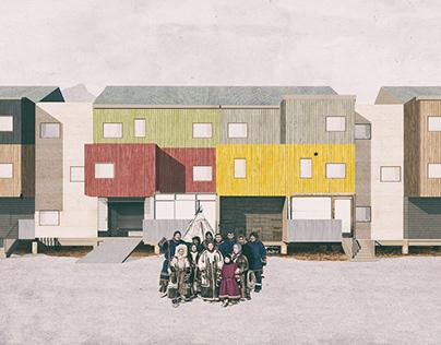 HOUSING / CHUKOTKA / MODULAR / TRADITIONAL