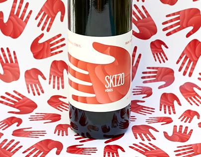 Skizo wine label family