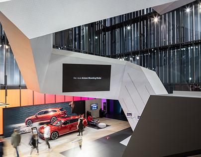 Autostadt: Corporate Architektur Volkswagen Pavillon