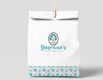 Yasmine's Lebanese Restaurant Branding