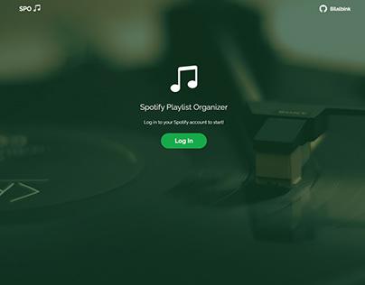 Spotify Playlist Organizer