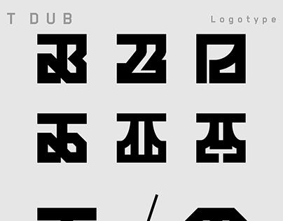 T Dub ID / Logotype.