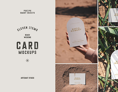 Wedding Cards Mockup Collection