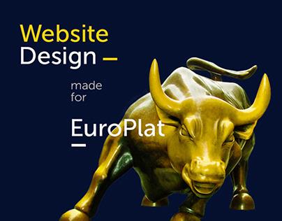 Evroplat веб-дизайн