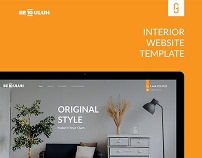 Sepuluh Interior Free Web Template