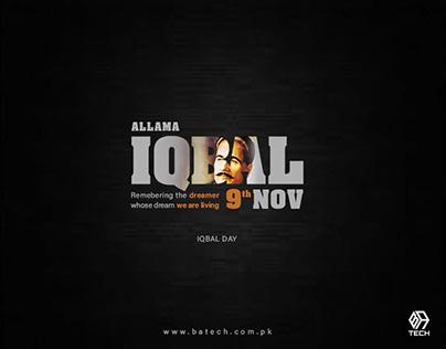 Allama Iqbal Day 9th November