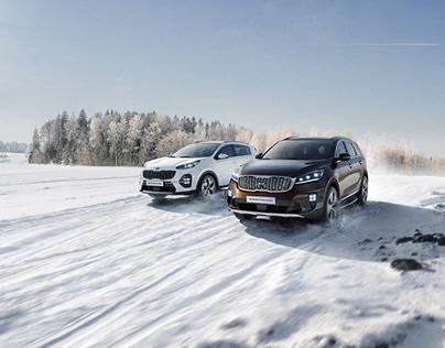 SUV Winter campaign