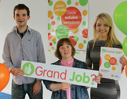 Grand Job? | Advocacy campaign for workplace inclusion