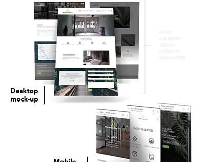 Ristrutturazione.bio - Brand Identity & Web project