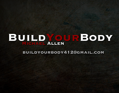 Build Your Body with Michael Allen: Banner