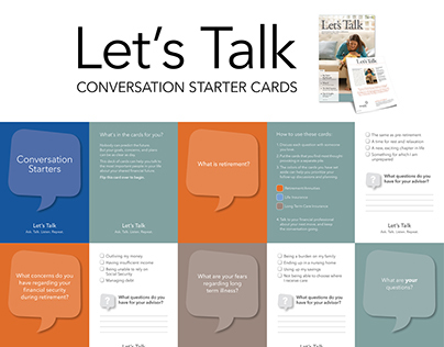 Let's Talk Conversation Cards