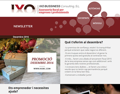 Newsletter Ixo Business Consulting