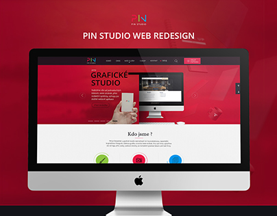 Pin studio web redesign