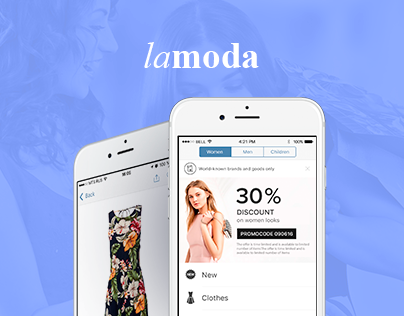 LaModa app for delivering fashion right to your home