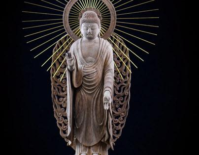 the Tathagata Amitabha (阿弥陀如来)