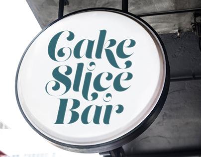 Cake Slice Bar