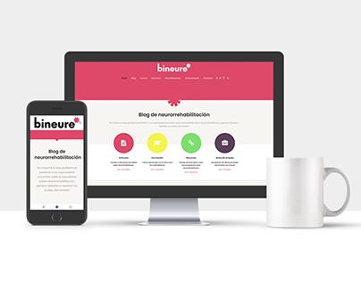 Diseño web Bineure.com