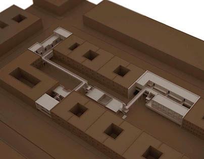 PROY VIVIENDA_2014_01_El Vacío: articulador de piezas
