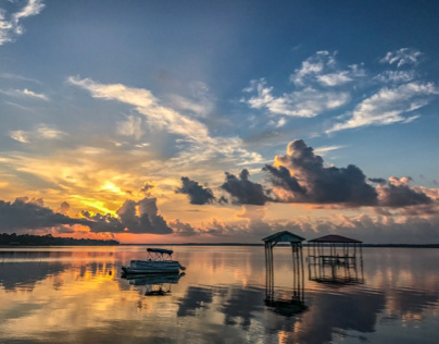 Morning Sunrise Over Perdido Bay