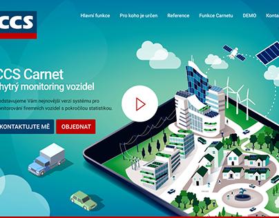 CCS Carnet web layout