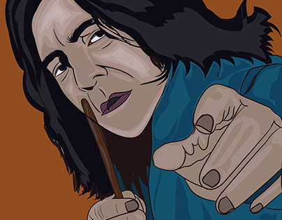 Professor Snape One of the powerful character.